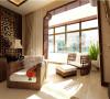保利花园-160平-东南亚风格