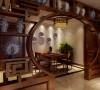 融侨上院-90平米-新中式装修