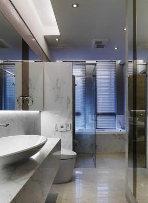 简约 现代 温馨 时尚 舒适 二居 80后小资 卫生间图片来自成都生活家装饰在145平简约而不简单的现代2居室的分享