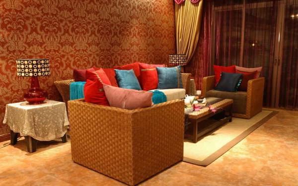 惬意的客厅空间让家居不再沉闷