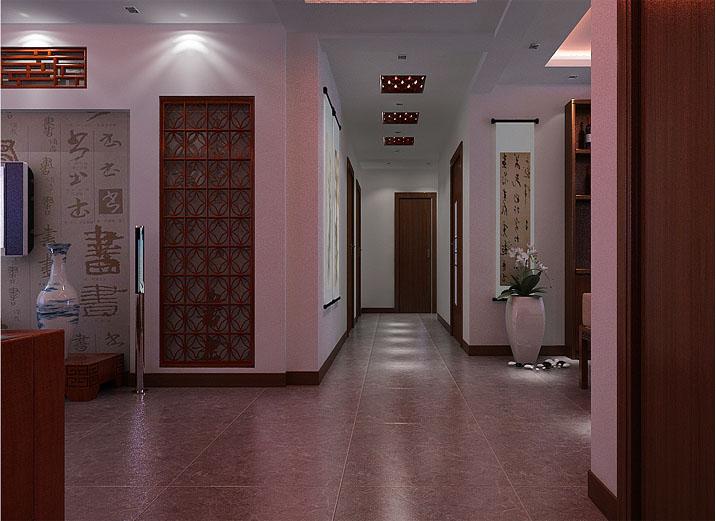武汉实创 奥山世纪城 中式风格 四居室 小资 玄关图片来自静夜思在奥山世纪城中式三居彰显中国传统的分享