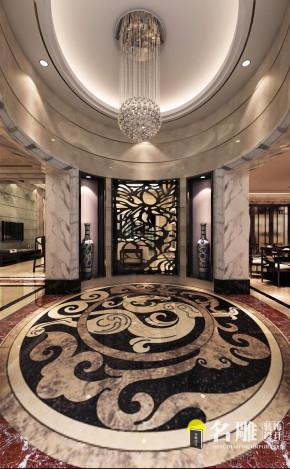 新中式 高贵大方 现代、简洁 别墅 舒适、实用 玄关 玄关图片来自广州名雕装饰在雅韵东方的分享