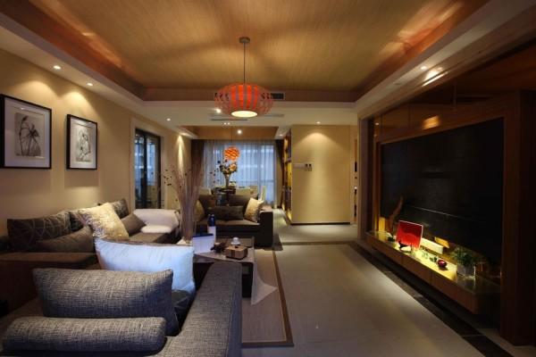 现代设计追求的是空间的实用性和灵活性。居室空间是根据相互间的功能关系组合而成的,而且功能空间相互渗透,空间的利用率达到最高。空间组织不再是以房间组合为主.