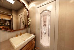 欧式 三居 中铁瑞景 成都实创 浪漫 温馨 小资 卫生间图片来自成都实创装饰在中铁瑞景颐城77平都市新贵欧式家的分享