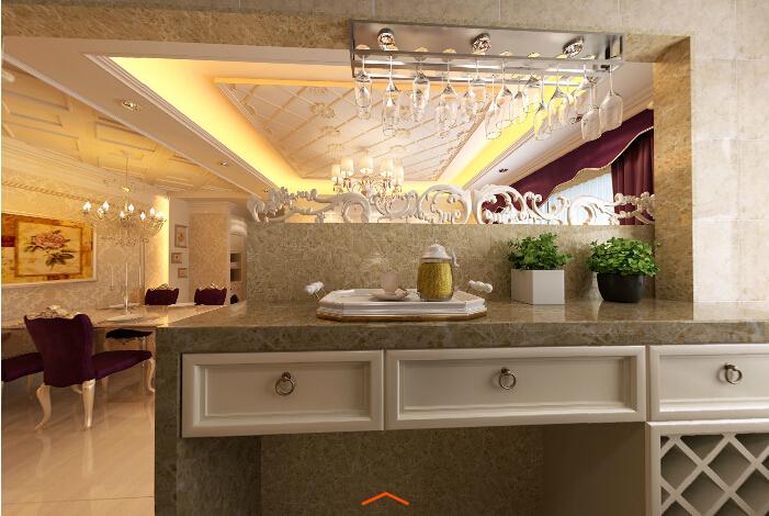 欧式 三居 中铁瑞景 成都实创 浪漫 温馨 小资 厨房图片来自成都实创装饰在中铁瑞景颐城77平都市新贵欧式家的分享