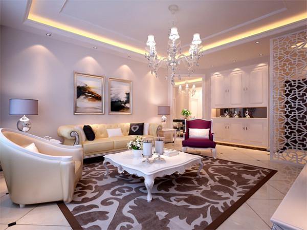 设计理念:典雅、富丽是客厅的形容词。整个空间展现出豪华古典的欧式家居,豪华的装饰,古典中流露华丽的贵族气息,复古的图腾都缔造了一个欧式的豪华之家。