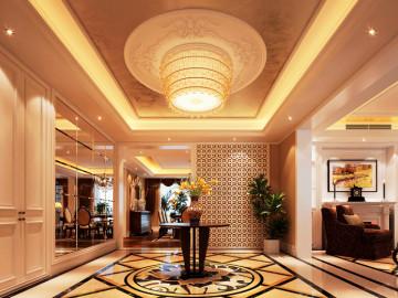 欧式豪华320平米设计效果图