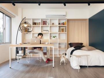 60平简约实木极品单身公寓