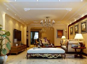 欧式 三居 别墅 白领 高大上 白富美 小资 客厅图片来自实创装饰都琳在欢乐谷华侨城的分享