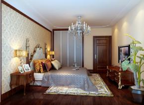 欧式 三居 别墅 白领 高大上 白富美 小资 卧室图片来自实创装饰都琳在欢乐谷华侨城的分享