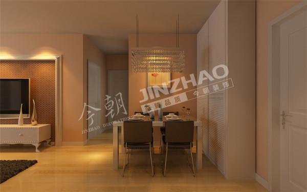 【设计说明】:本案的设计重点是会客空间与门厅、餐厅以及过道空间互通与交流。