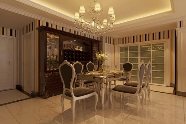 本方案定义为欧式田园风格强调线形流动的变化,色彩华丽。它在形式上以浪漫主义为基础,运用多彩的织物、精美的地毯,精致的壁挂,整个风格豪华、富丽,充满强烈的动感效果。