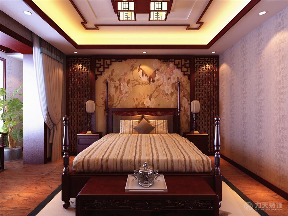 中式 三居 白领 收纳 80后 小资 卧室图片来自阳光放扉er在宜和澜岸-178平米-中式风格的分享