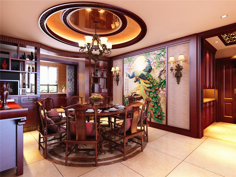 餐厅图片来自阳光放扉er在宜和澜岸-178平米-中式风格的分享