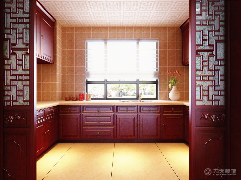 厨房图片来自阳光放扉er在宜和澜岸-178平米-中式风格的分享