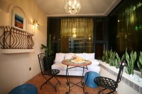 四室 80后 装修设计 慕尚家居 地中海 阳台图片来自慕尚族在广电兰亭都荟的分享