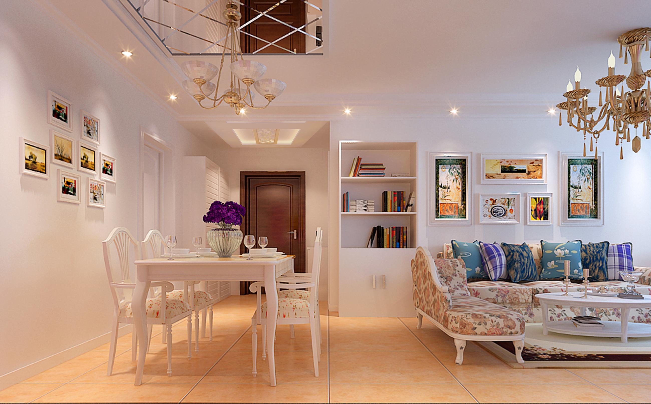 田园 欧式 二居 80后 白富美 餐厅图片来自实创装饰都琳在回龙观的分享