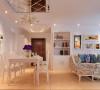 整体设计采用的颜色大胆而统一,大多采用咖啡色,米色,棕色,淡绿,蓝,为主,在家具、造型的搭配和白色基调的衬托下,色彩丰富而稳重。视觉上增加了温馨感和空间感而不失简洁明快,家的味道就更浓郁了。