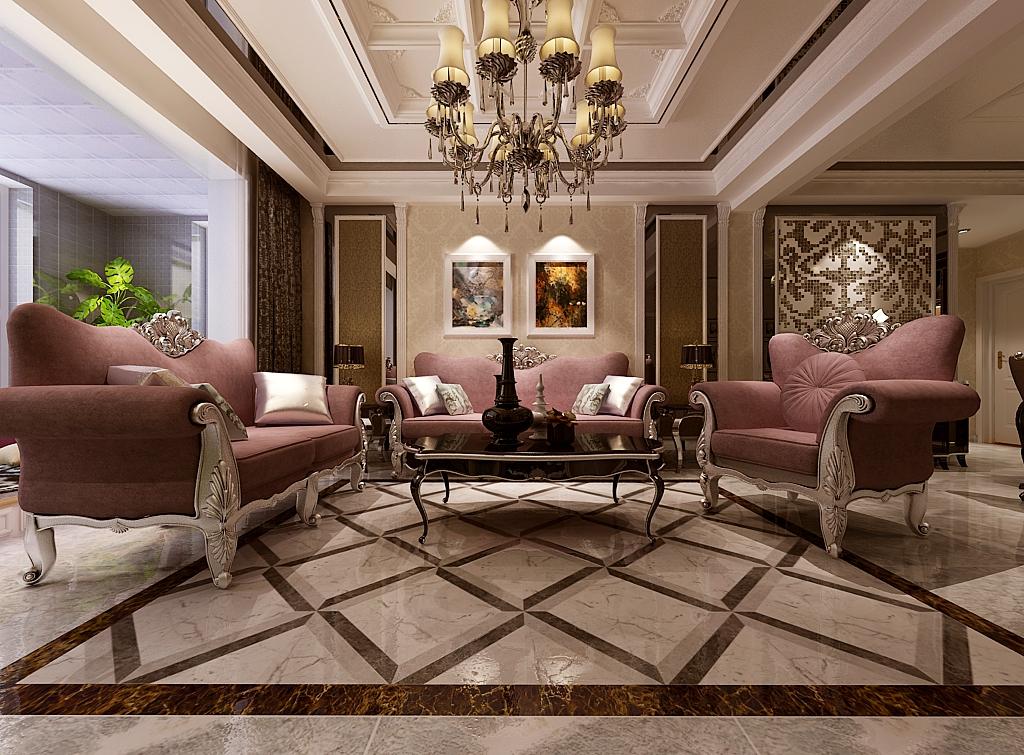 欧式 元洲装饰 简欧风格 客厅图片来自元洲小韩在中山华府简欧装修效果图的分享