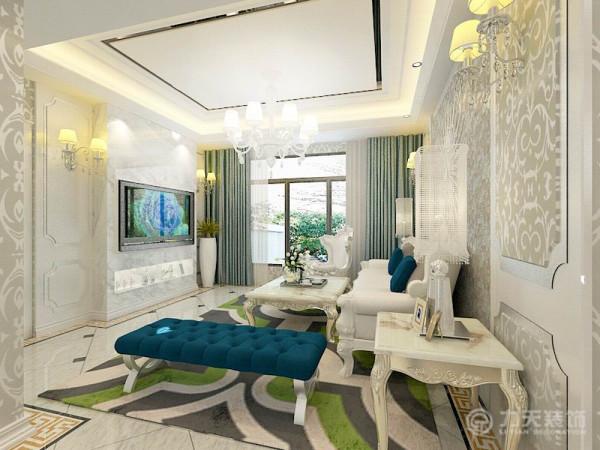 本案例为弘泽鉴筑2号楼标准层户型3室2厅2卫 126.40㎡的户型。这次的设计风格定义为简欧风格。