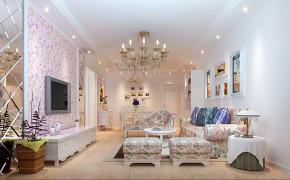 田园 欧式 二居 80后 白富美 客厅图片来自实创装饰都琳在回龙观的分享