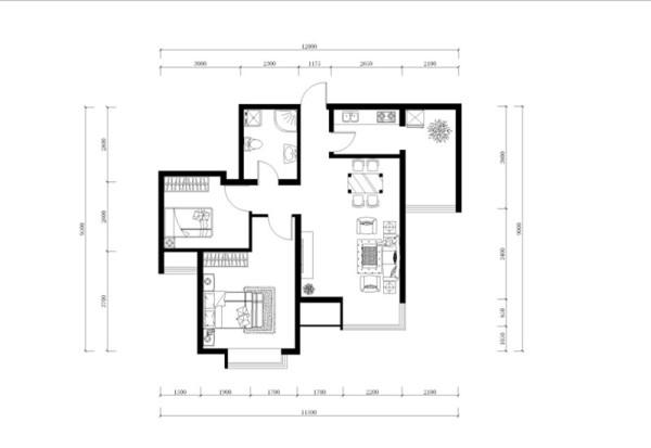 本方案围绕新古典风格主题,适合于20-30岁左右的三口之家居住,从全面考虑,本方案的主色调为棕黄色,灰绿色,胡桃木色,米黄色等颜色。主要装饰材料以壁纸,木线条,硬包为主