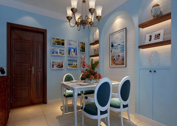造型墙的设计给我空间增加了活力和储物的空间。