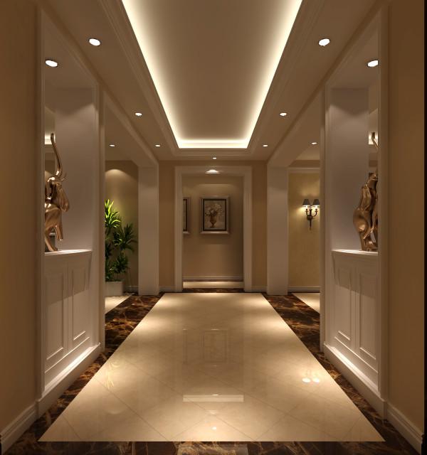 门厅玄关细节图 高度国际装饰设计