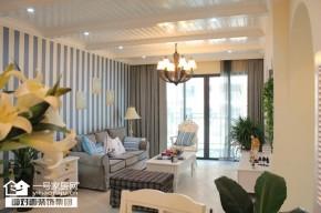 地中海 小清新 一号家居 客厅图片来自武汉一号家居在金地雄楚一号91平经典地中海风格的分享