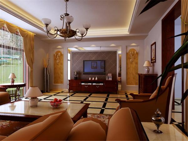 本案例为一套现代欧式风格,业主是两位中老年人,对欧式风格情有独钟,特别 对欧式风格里面的一些造型,家具以及后期的软装饰。