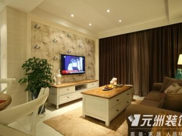 紫晶悦城115平米现代美式装修