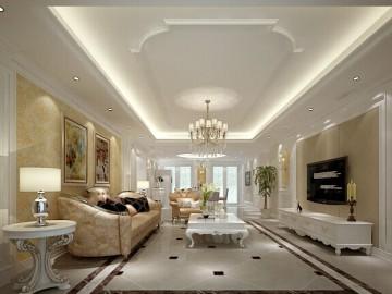 38万打造三口之家法式别墅