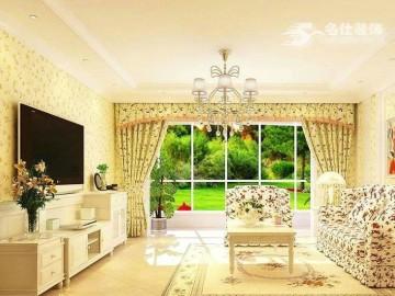 沿海赛洛城-田园风格-四居室