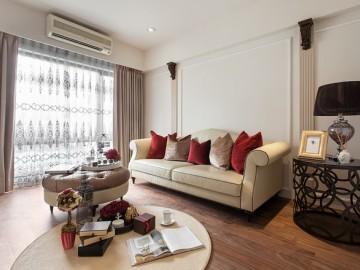 上海滩93平新古典时尚公寓