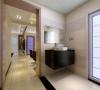 洗手间和卫生间独立开来,为业主方便了日常的生活,避免家里客人多时的冲突。