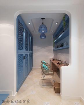 地中海 家居 装饰 三居 下跃 衣帽间图片来自YI依帆2012在金地朗悦下跃地中海风格案例赏析的分享