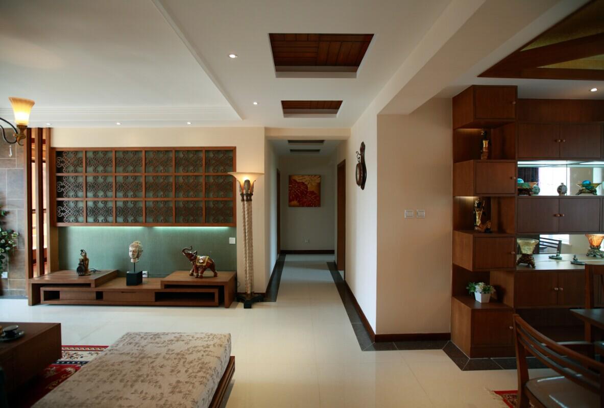 东南亚 玄关图片来自郑州实创装饰-杨淑平在农大家属院时尚的东南亚风格设计的分享
