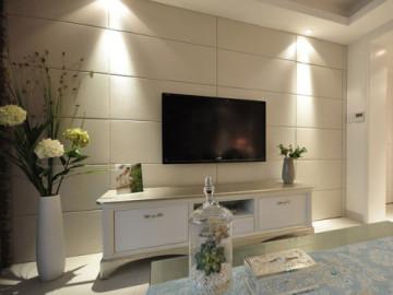 上东花墅100平欧式空间典雅设计