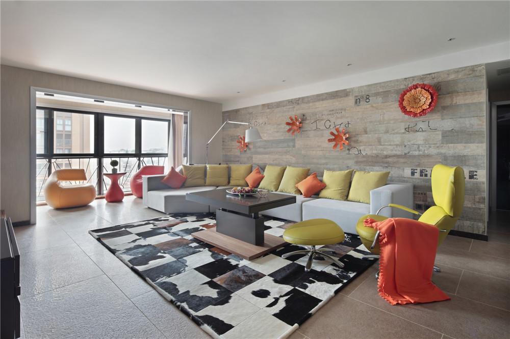 简约 三居 时尚 客厅图片来自成都业之峰装饰公司在现代简约——桐梓林欧城实景的分享