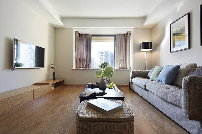 三居 简约 客厅图片来自贾凤娇在外交部青年路  现代简约风格的分享