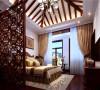 北京别墅装修——卧室