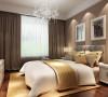 本案以暖色乳胶漆的墙体为主,营造一种温馨舒适的感觉。