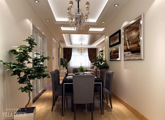 简约 欧式 混搭 三居 白领 80后 餐厅图片来自原创艺墅装饰安琪在东亚逸品阁,温馨舒适简欧风格。的分享
