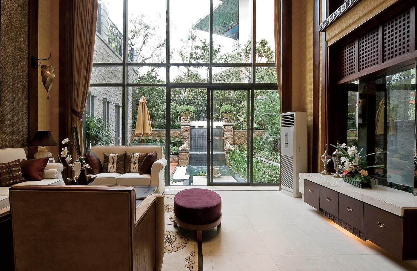 简约 别墅 装修设计 慕尚家居 海伦春天 客厅图片来自慕尚族在海伦春天的分享