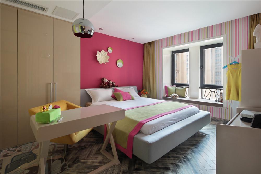 简约 三居 时尚 卧室图片来自成都业之峰装饰公司在现代简约——桐梓林欧城实景的分享