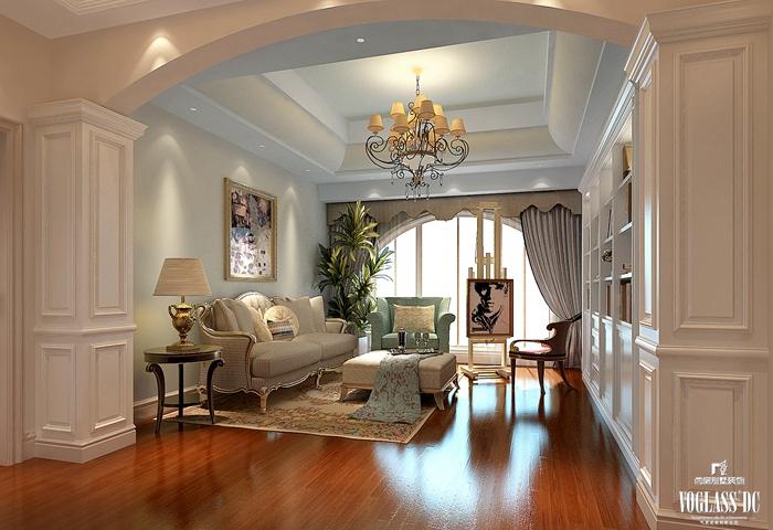 法式 别墅 卧室图片来自尚层别墅装饰总部在雅致法式你见过吗?的分享
