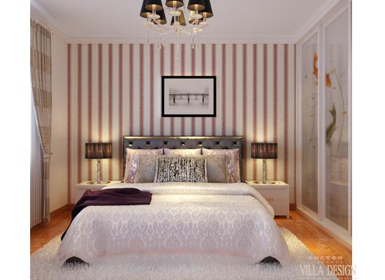 简约 欧式 混搭 三居 白领 80后 卧室图片来自原创艺墅装饰安琪在东亚逸品阁,温馨舒适简欧风格。的分享