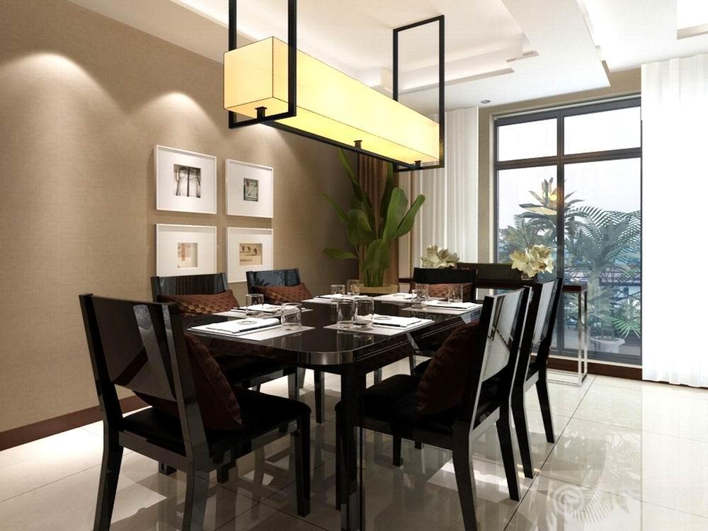 中式 四居 收纳 白领 80后 小资 餐厅图片来自阳光力天装饰在阳光晶典-140㎡-新中式的分享