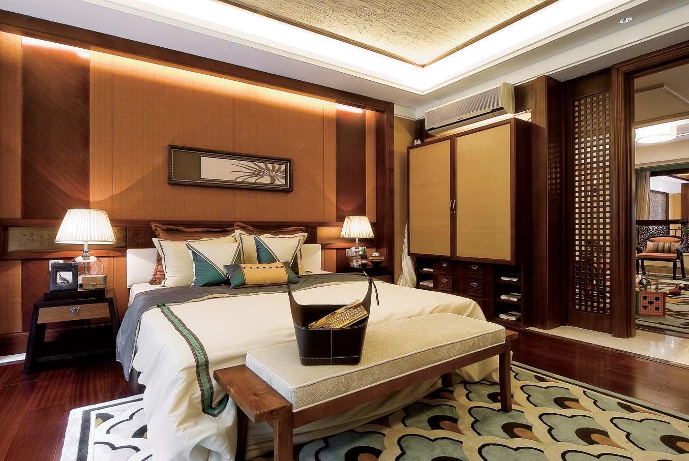 简约 别墅 装修设计 慕尚家居 海伦春天 卧室图片来自慕尚族在海伦春天的分享