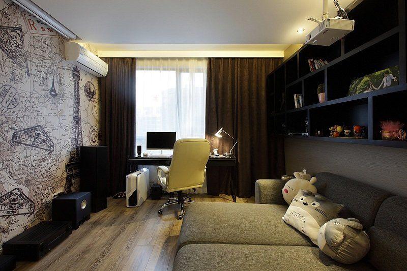 简约 三居 白领 收纳 旧房改造 80后 小资 书房图片来自名仕装饰-小飞在东湖景园现代简约的分享